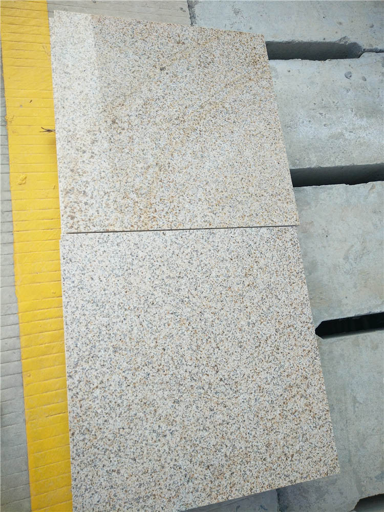 Zhangpu Rusty Granite Polished Yellow Granite Tiles