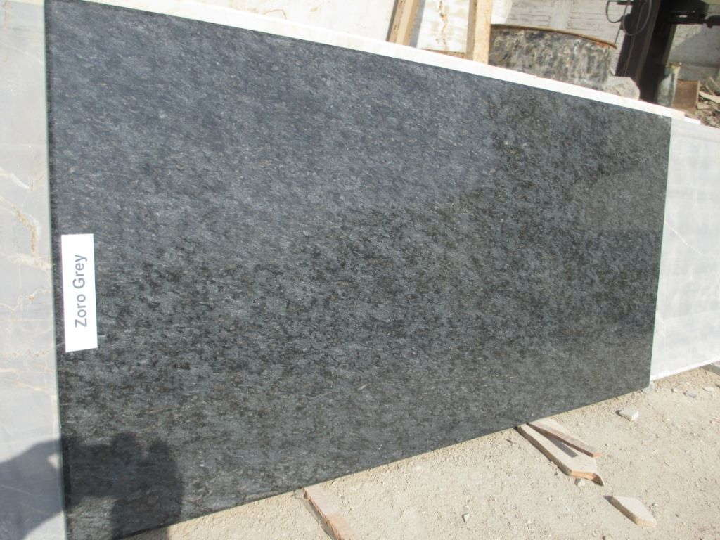 Zoro Grey Granite Slabs for Kitchen Countertops
