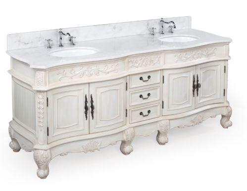 marble vanity tops white