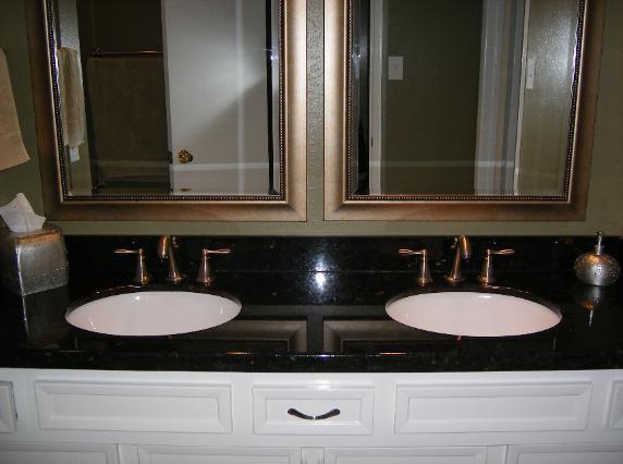 Absolute Black Granite Vanity Tops Bathroom Vanity Tops