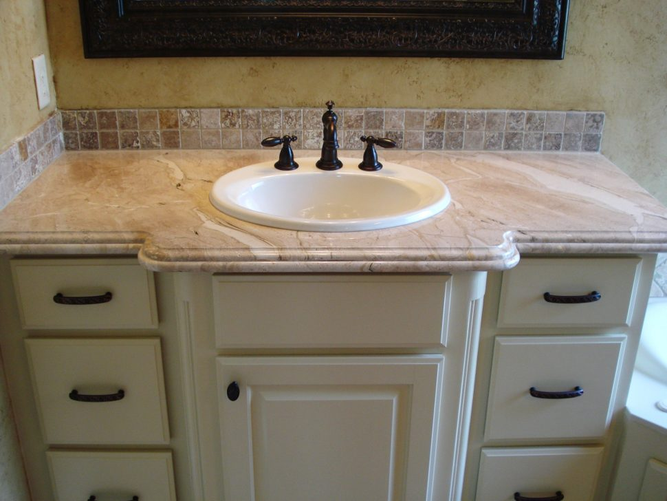 white polished vanities natural beige marble tops