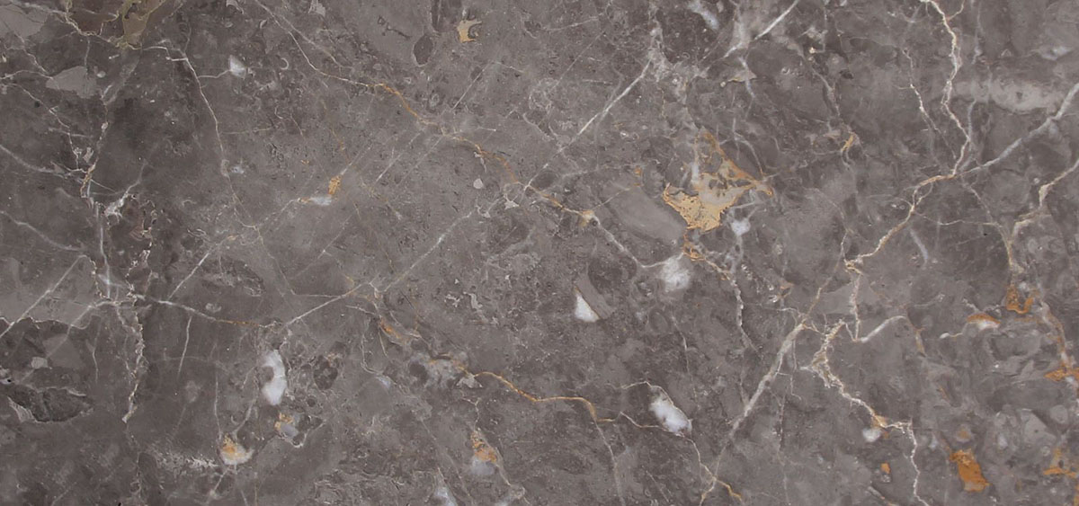 anthracite gold marble