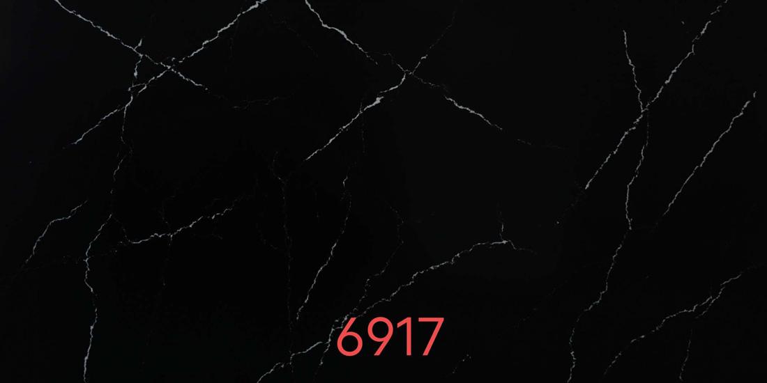 black quartz countertop 6917