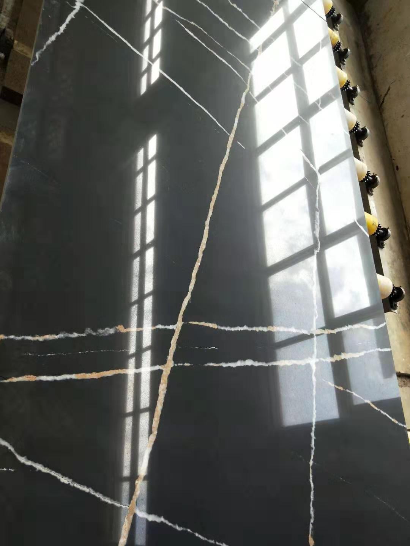 black quartz slab 2