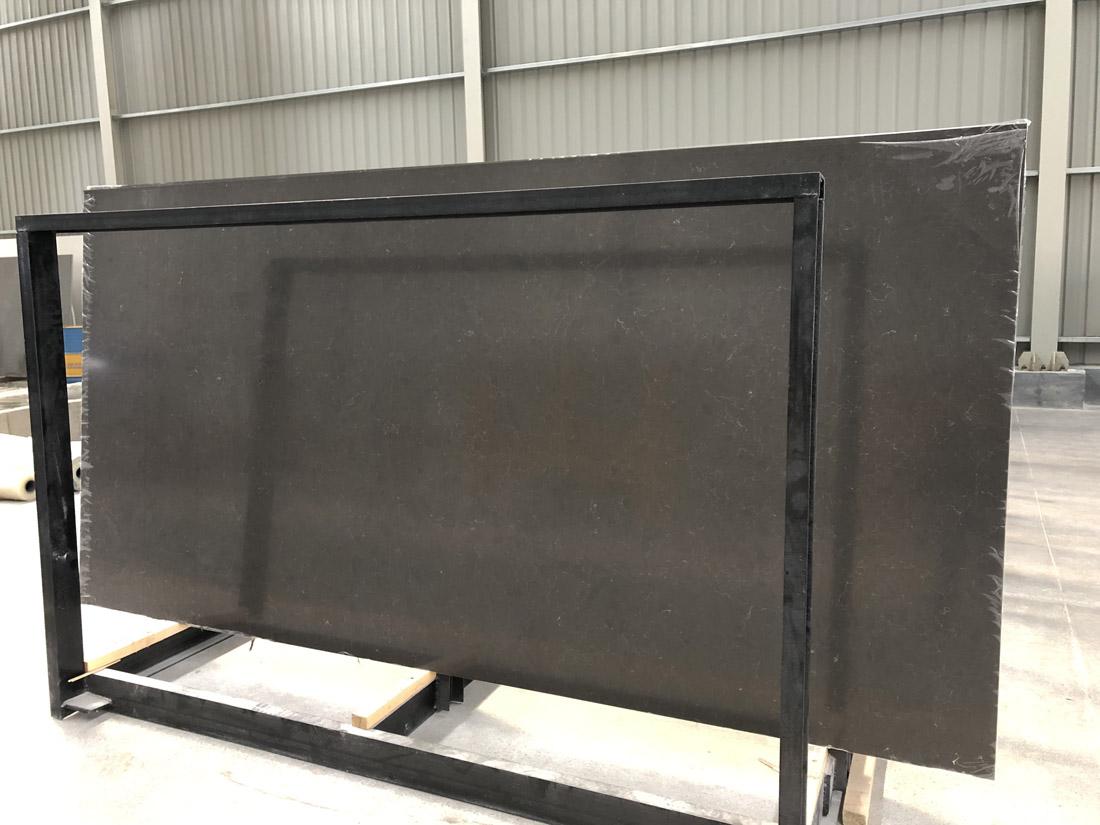 black quartz slab quartz countertop 5309