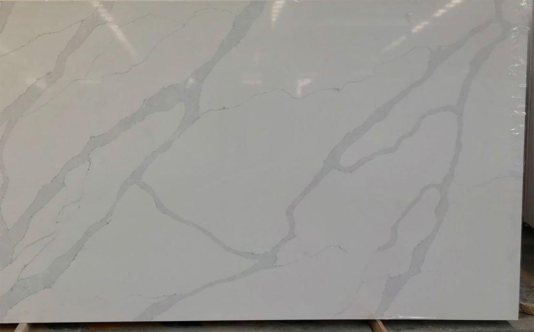 China Calacatta Quartz Slab 5238