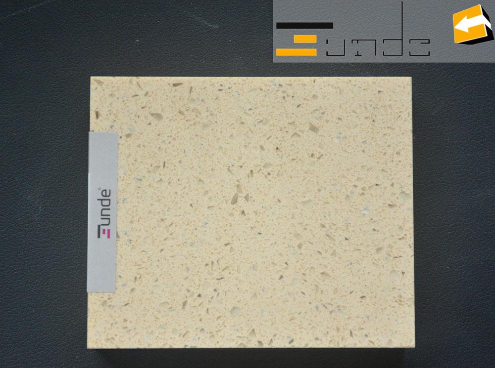 calacatta beige quartz tile jd041-1
