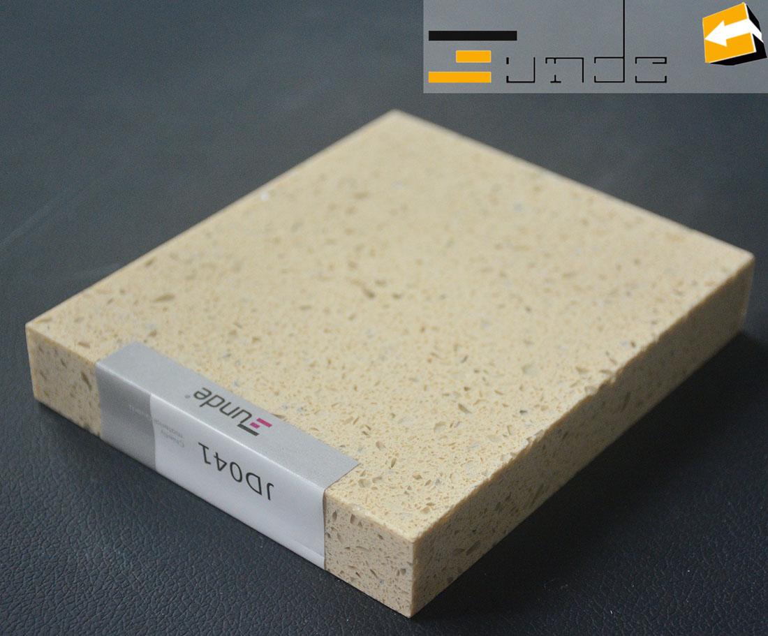 calacatta beige quartz tile jd041