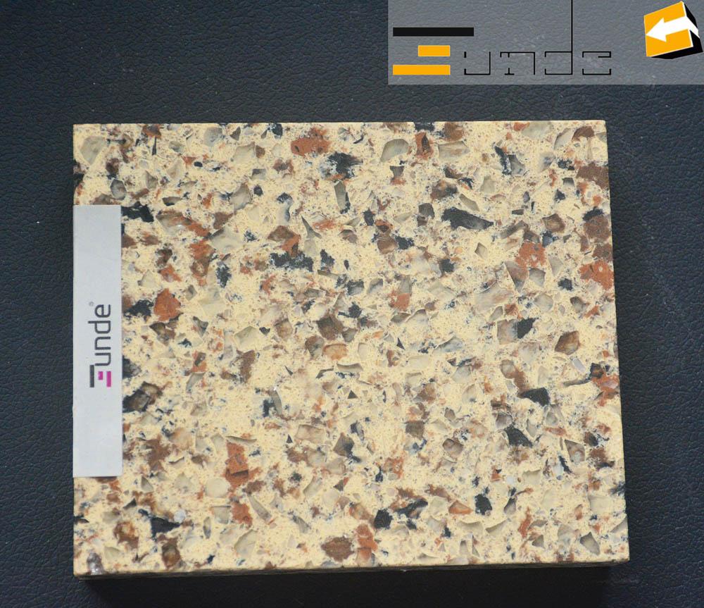 calacatta beige quartz tile jd202