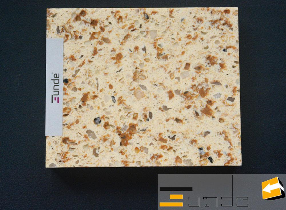 calacatta beige quartz tile jd217-1