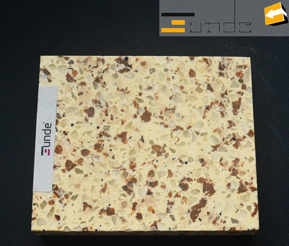 calacatta beige quartz tile jd220-2