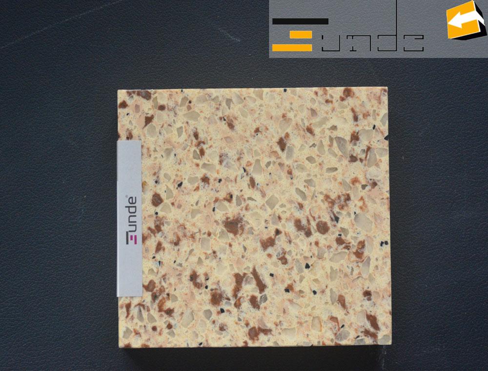 calacatta beige quartz tile jd220-3