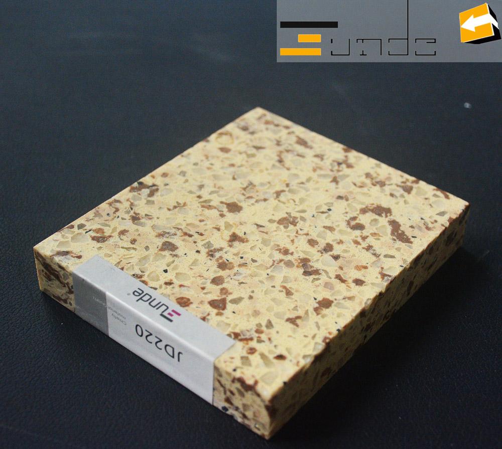 calacatta beige quartz tile jd220
