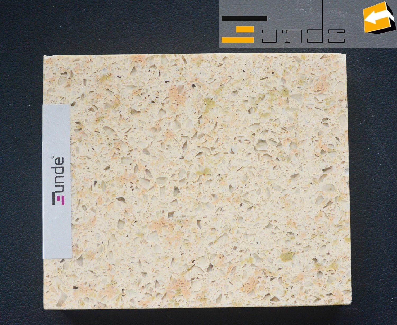 calacatta beige quartz tile jd226-1