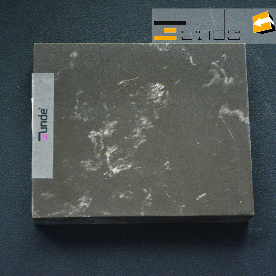 calacatta grey quartz stone jd408-1