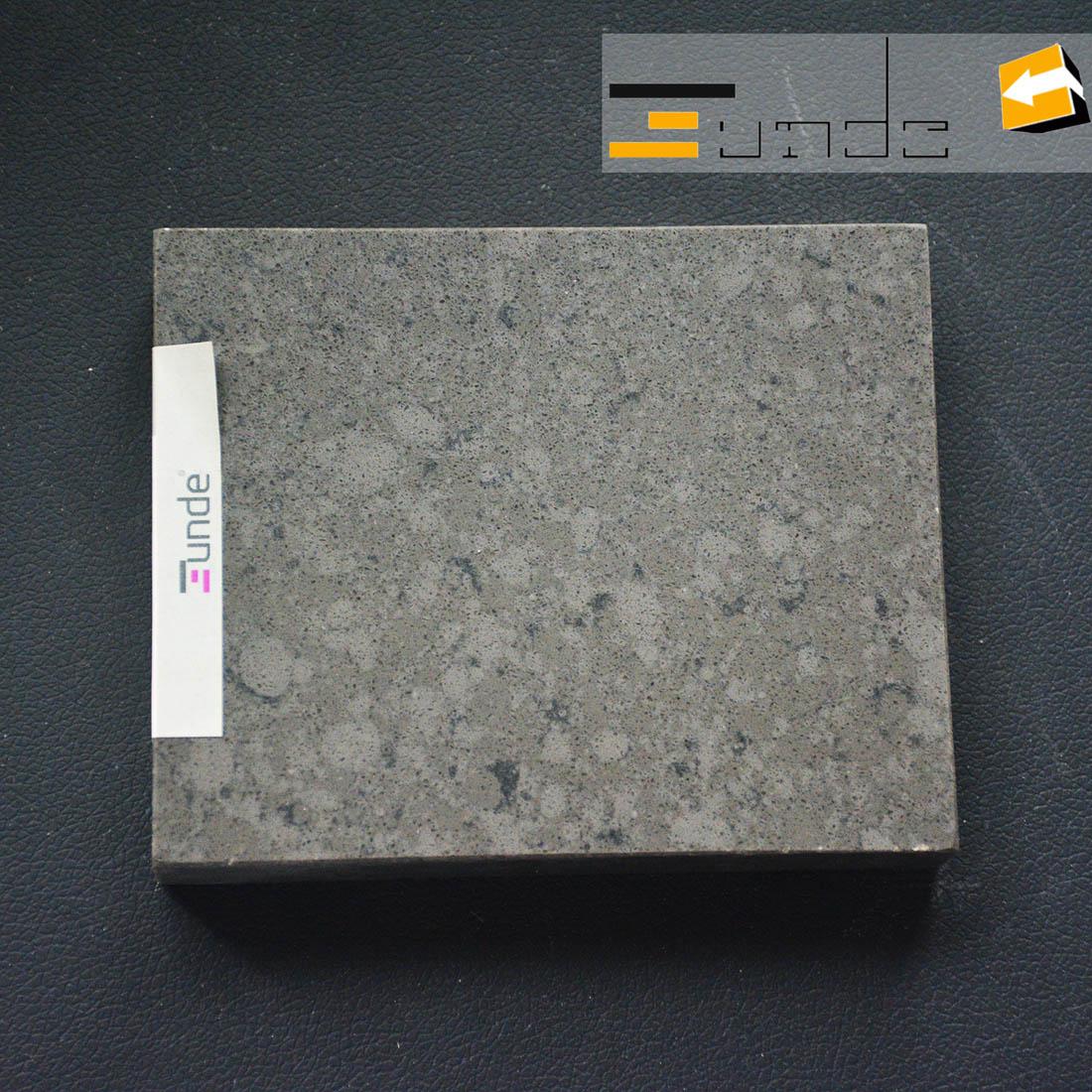 calacatta grey quartz stone sample jd410-2