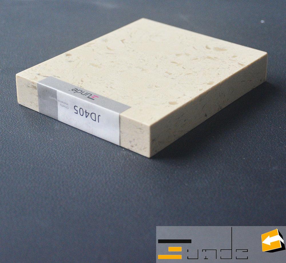 calacatta white quartz stone sample jd405-1