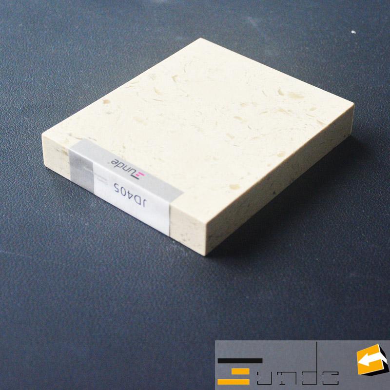 calacatta white quartz stone sample jd405-2