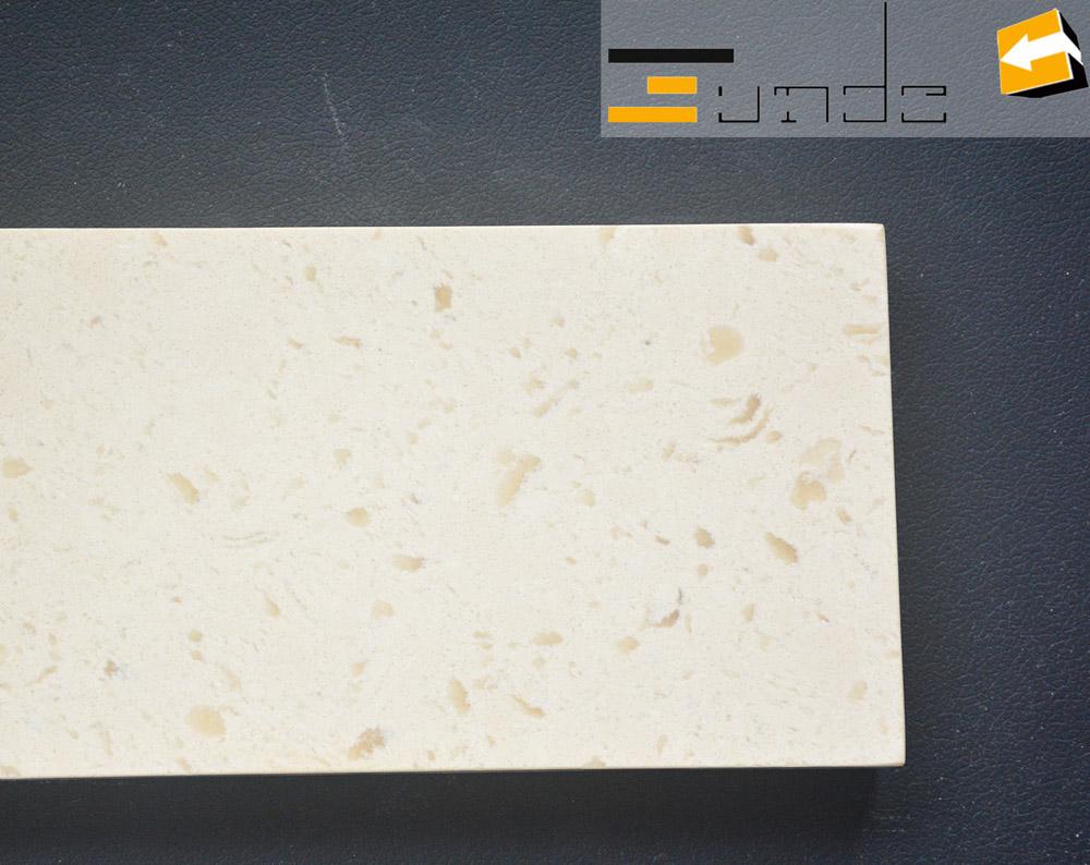 calacatta white quartz stone sample jd405-3