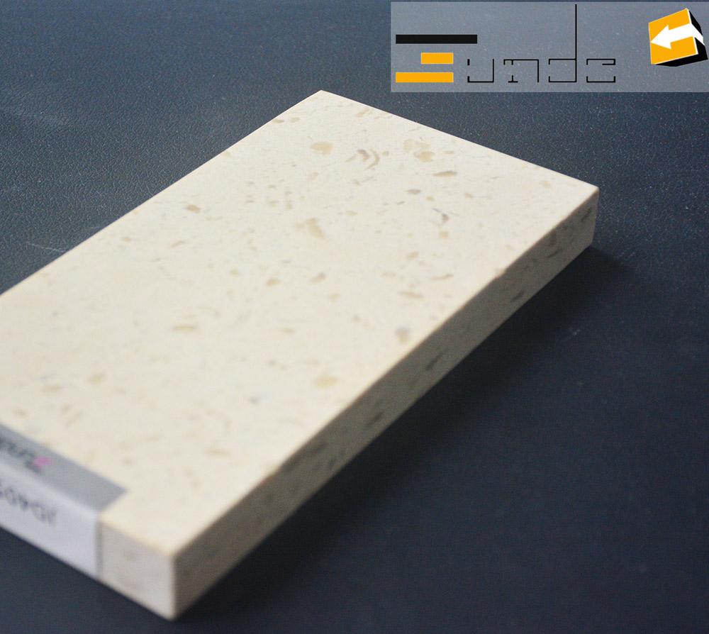 calacatta white quartz stone sample jd405-5