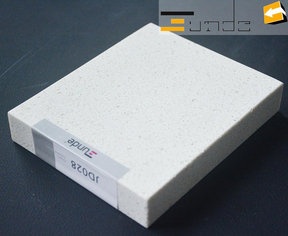 white quartz tile jd028-2