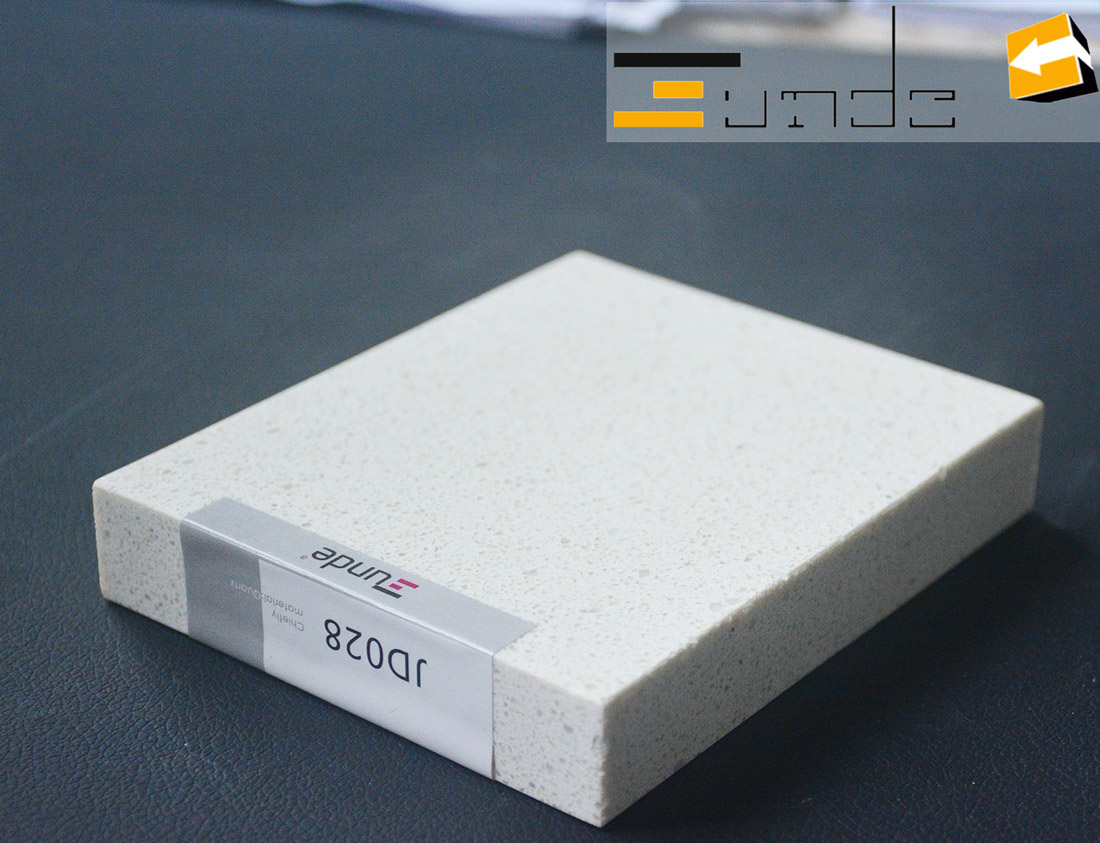 white quartz tile jd028