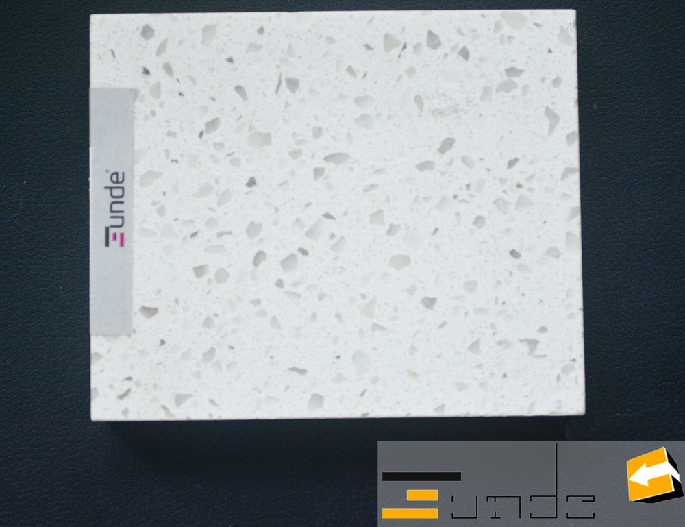 white quartz tile jd042-1