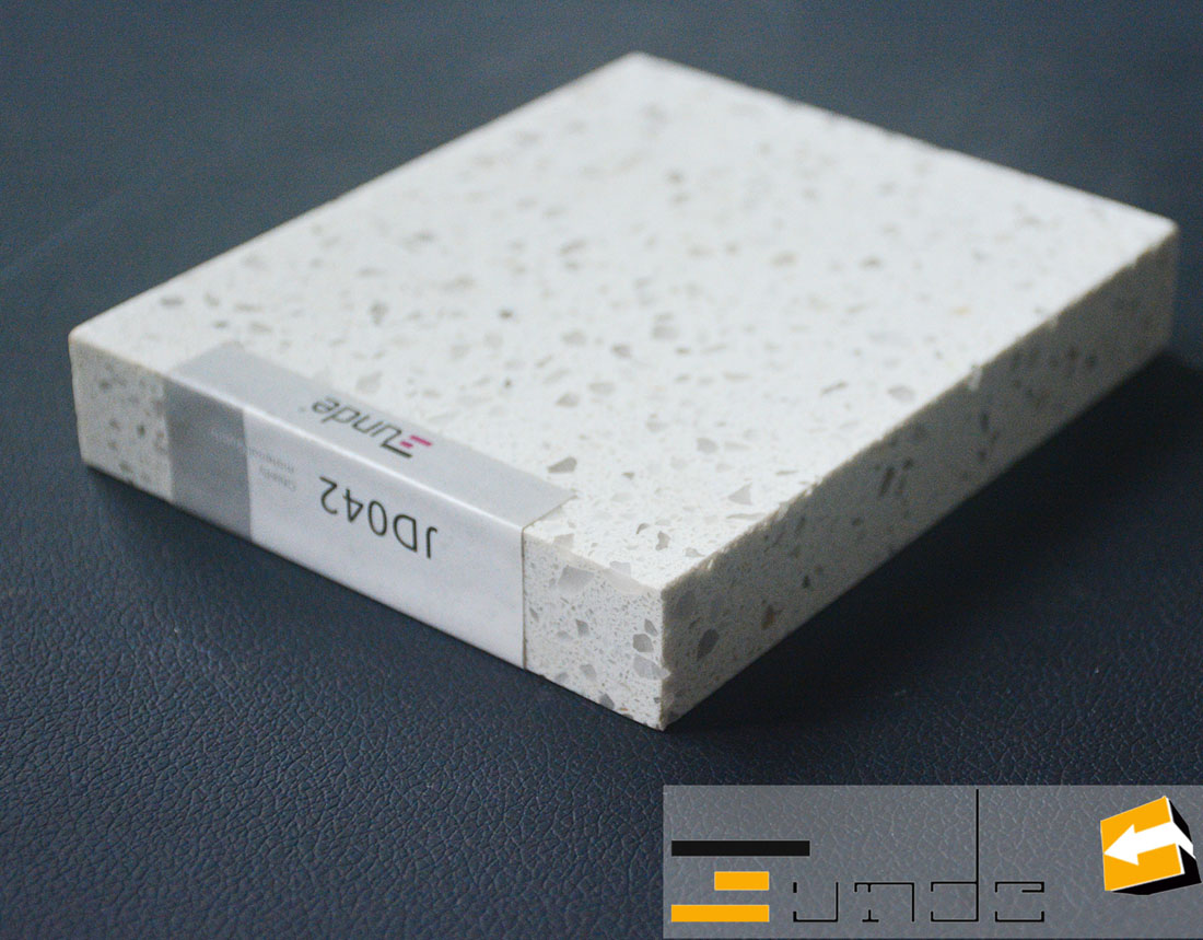 white quartz tile jd042