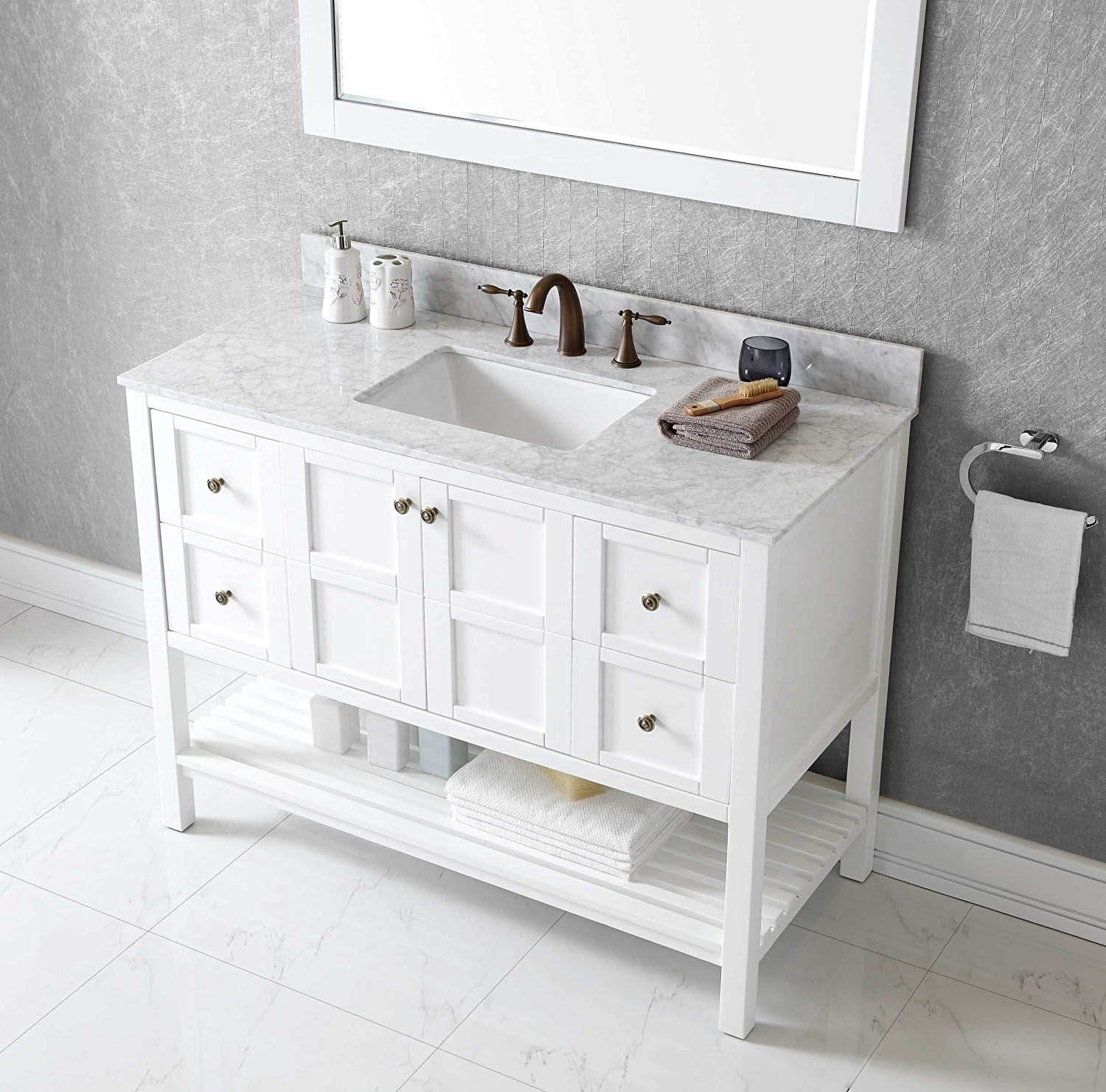 Bathroom Vanity Top White