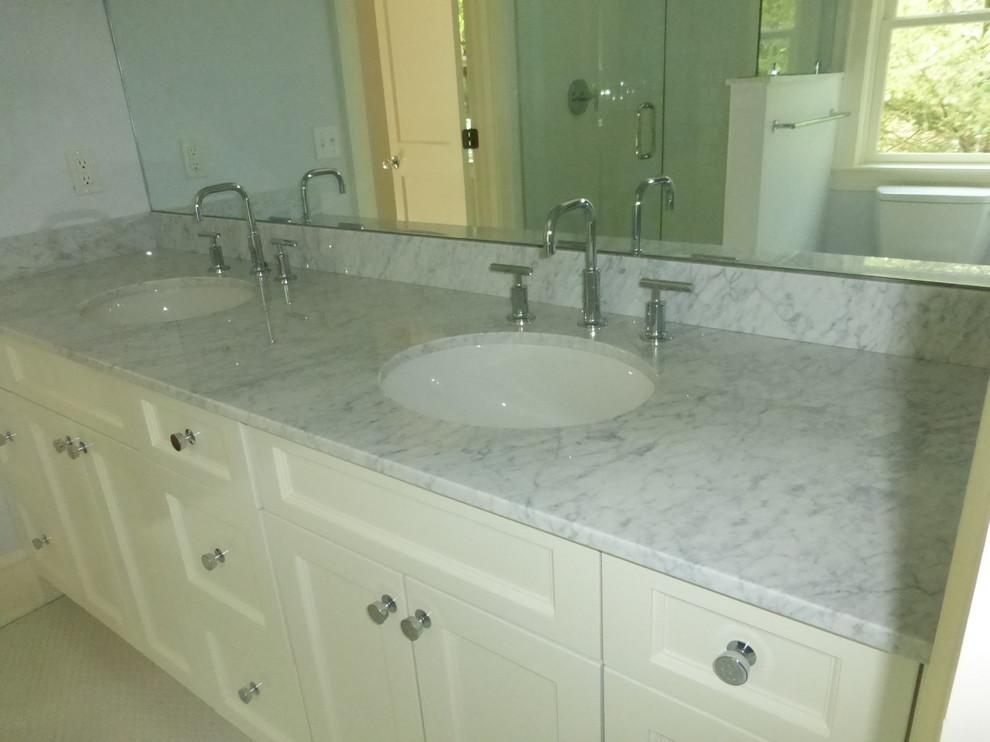 carrara marble vanity tops