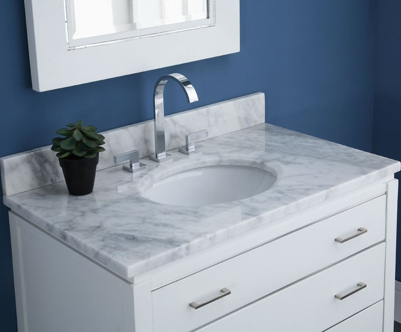 marble vanity interiors bathroom