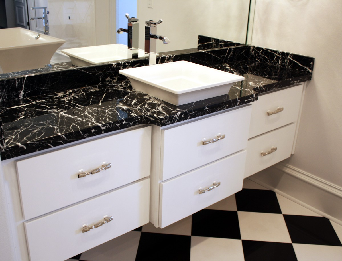 Bathroom Vanity Tops Black