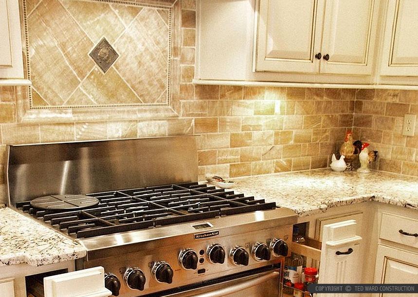 Kitchen Tile Back Splash Onyx