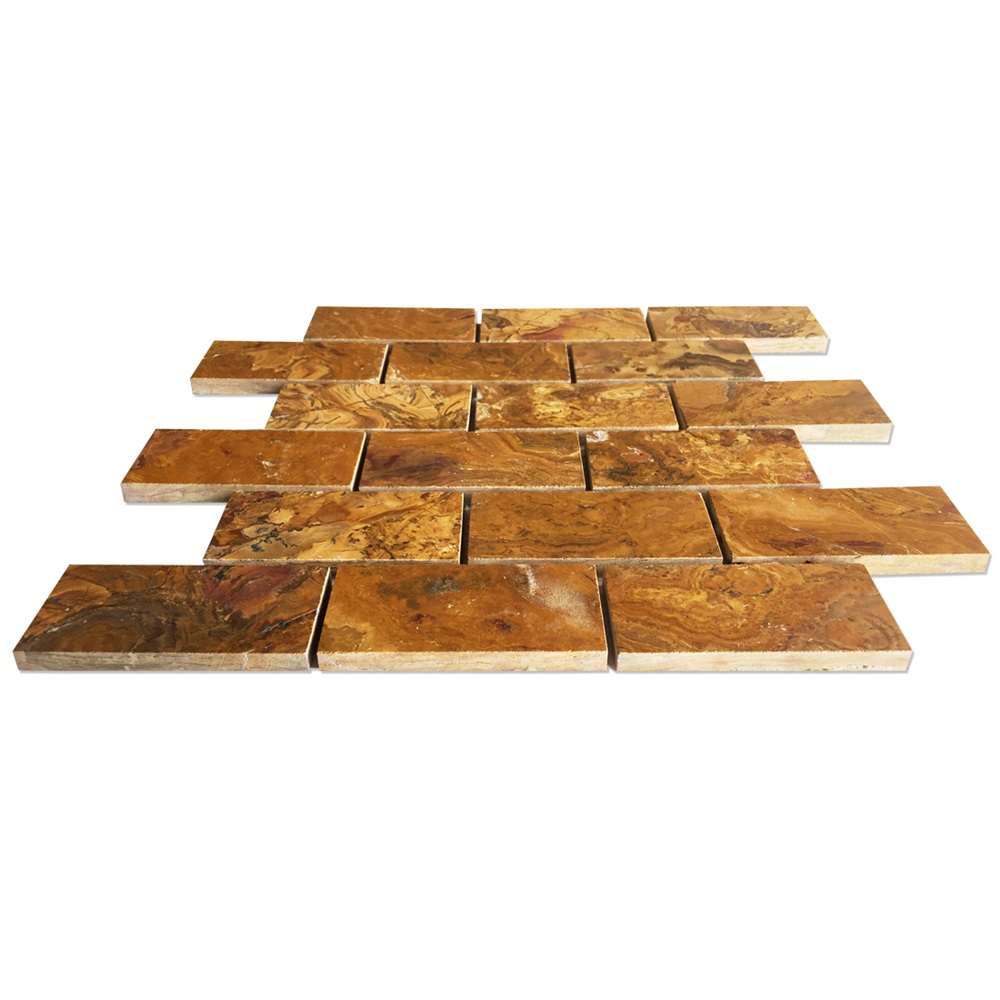 Brown Onyx Tile Wall