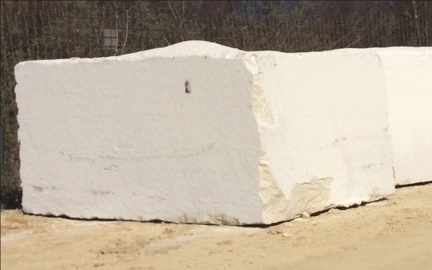 Bianco Perlino Limestone Blocks