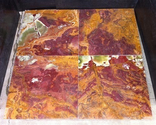 Red Onyx Tiles Floor