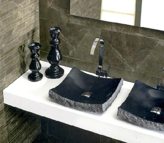 modern white vanity tops