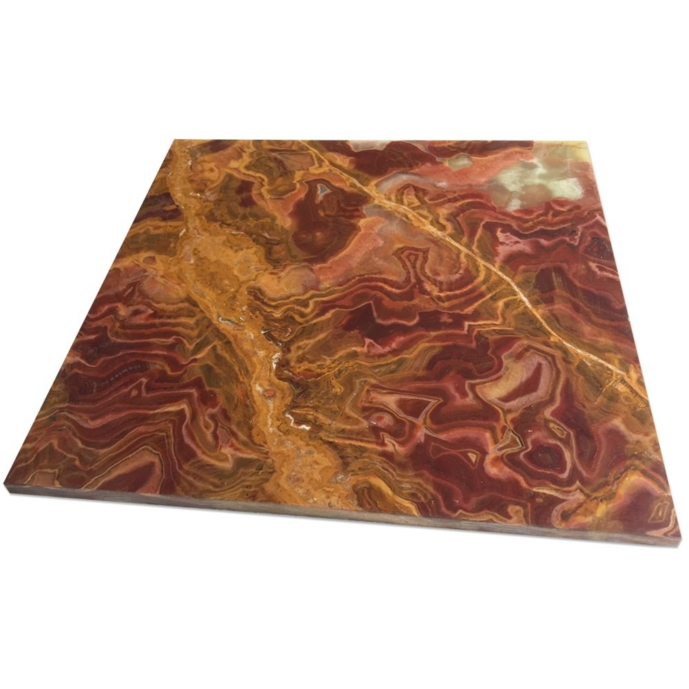 Onyx Tile Red