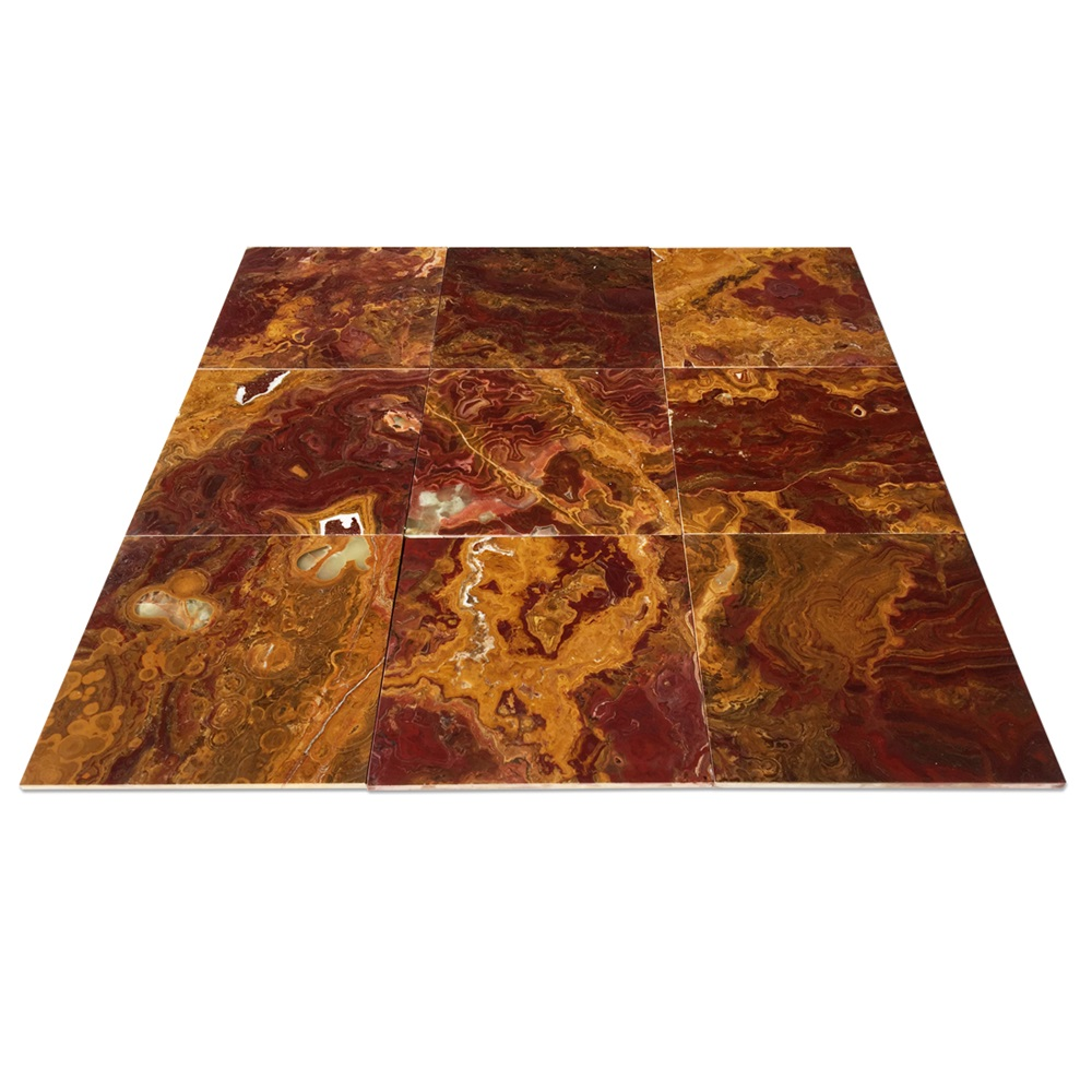 Brown Onyx Tiles Floor