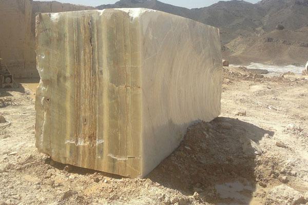 Green Onyx Stone Block