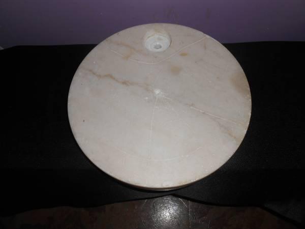 round marble slab