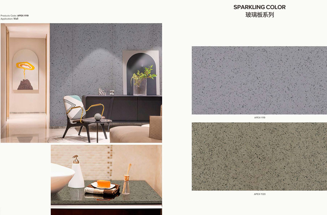sparkling colors quartz stone 1