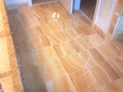 Yellow Onyx Tiles Floor