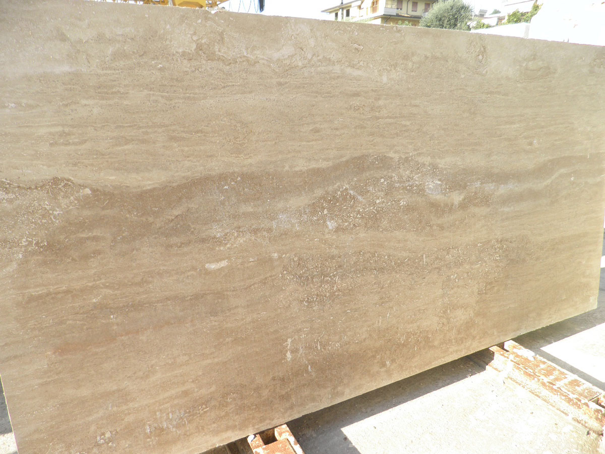 travertino Noce Slabs