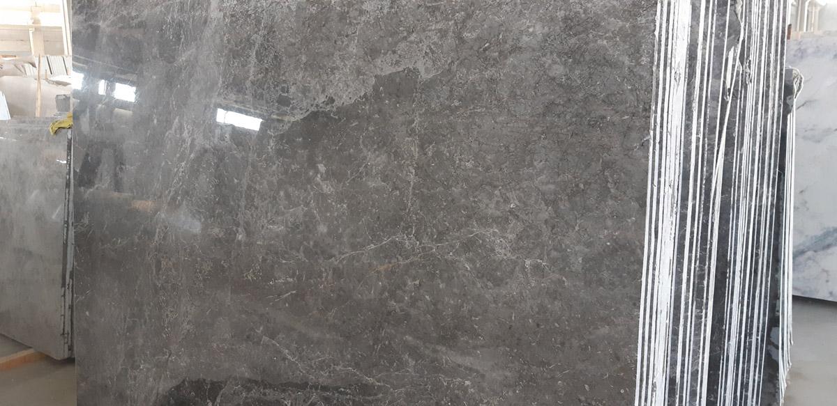 tundra gray marble slabs