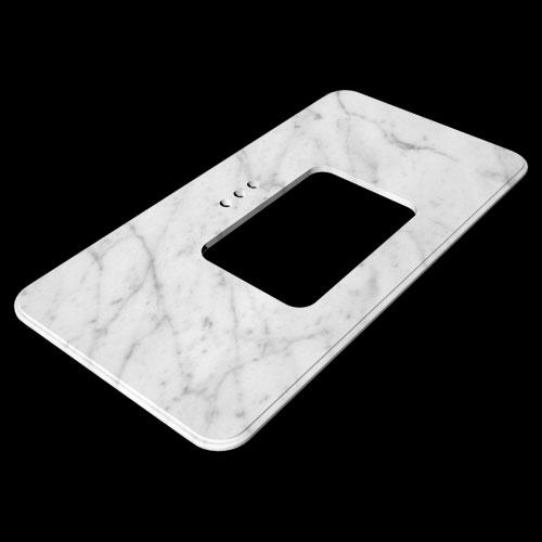 Vanity White Marble Countertops