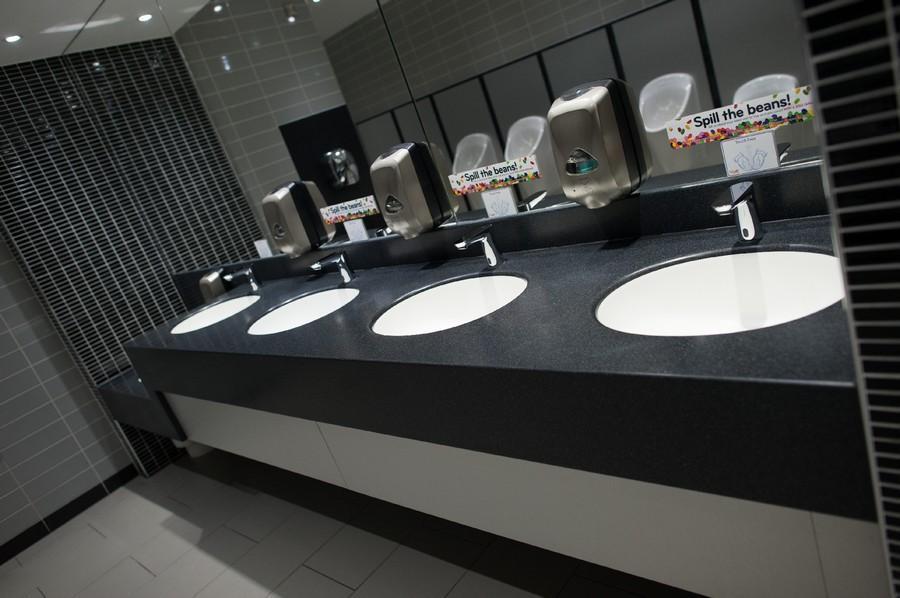 vanity with top countertops