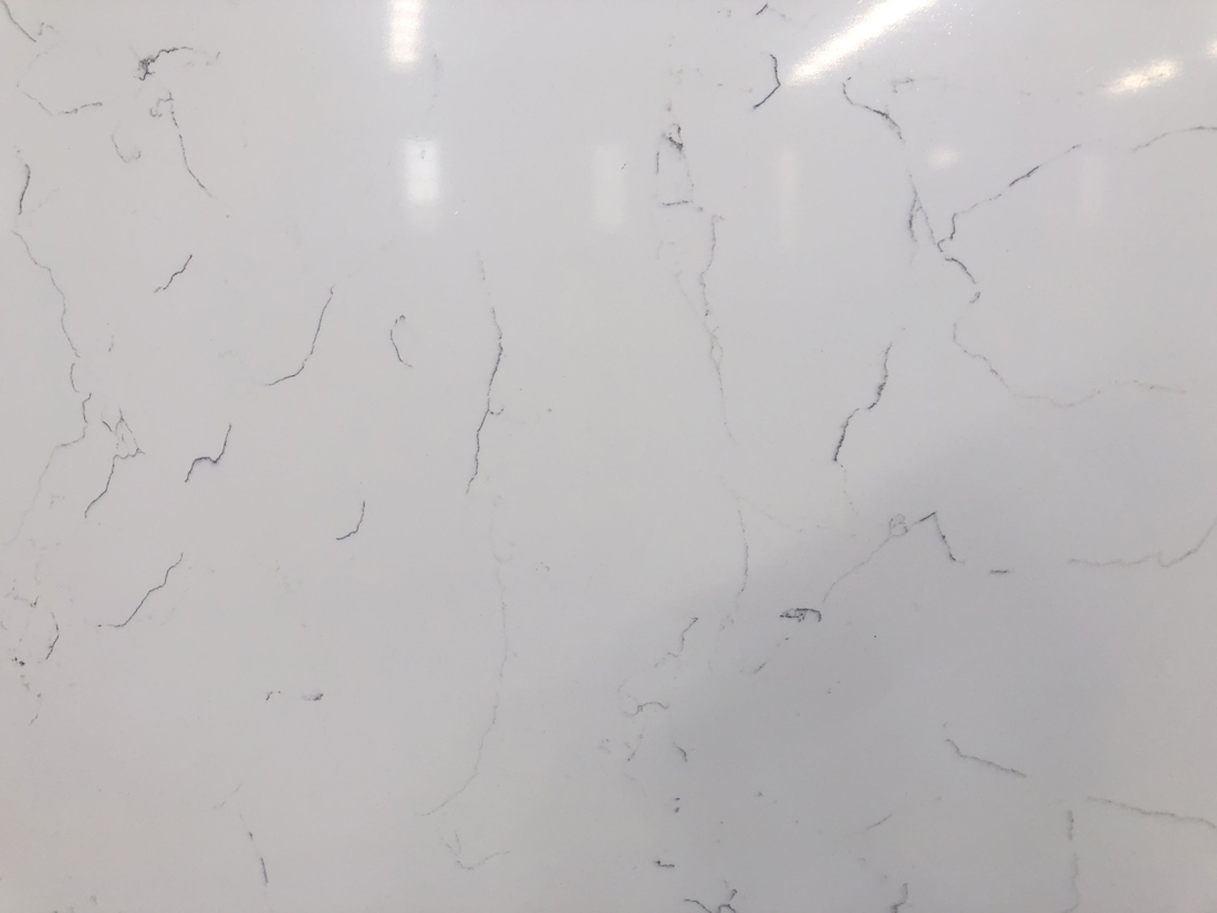 white quartz countertop 5112-