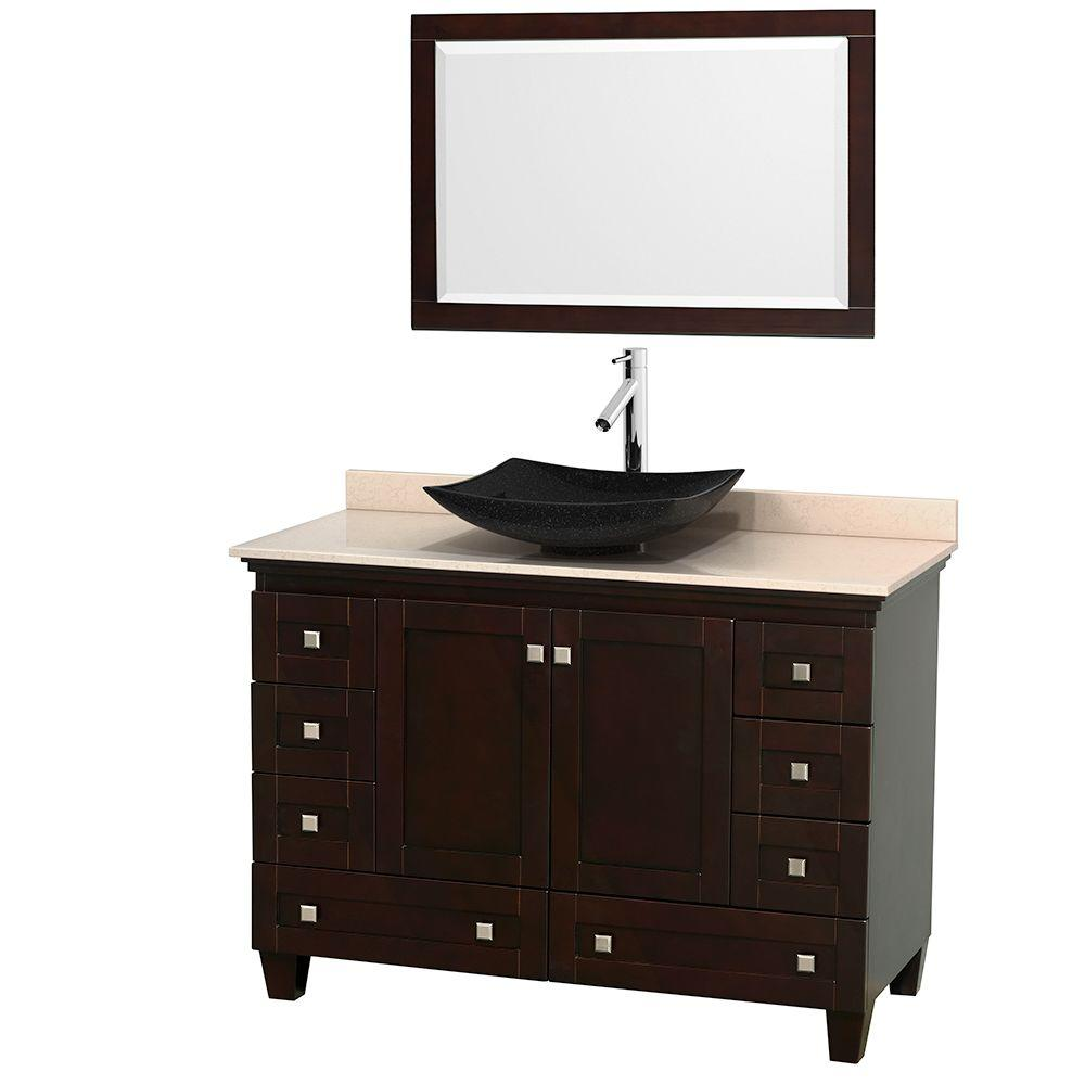 vanities with tops