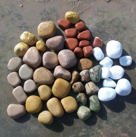 Mix Color pebbles